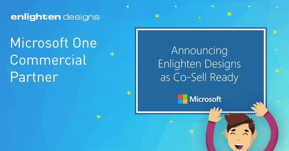 Enlighten Designs named Microsoft Co-Sell Ready Partner
