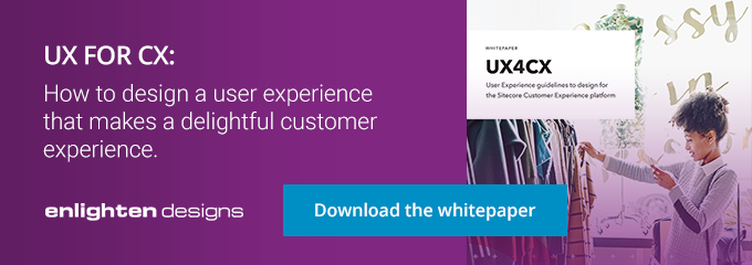 UX for CX. Download the white-paper.