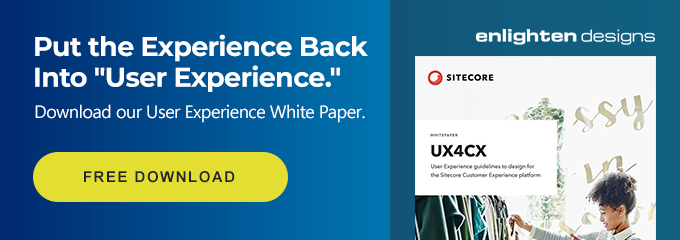 Put the experience back into User Experience